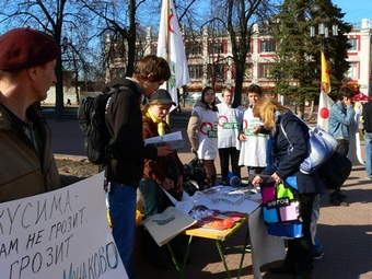 Активисты «Яблока» выступили против Громова