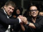 Ван Дамм прилетел в Грозный поужинать с Кадыровым