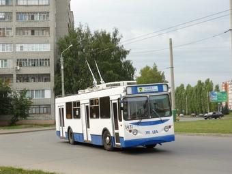 20 новых троллейбусов украсил логотип 350-летия Пензы