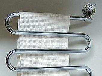 Коленце для полотенца