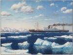 """Пароход """"Челюскин"""", нашедший свою обитель на дне Чукотского моря"""