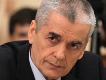 Онищенко предложил ввести карточки, на которые можно купить только отечественный продукт