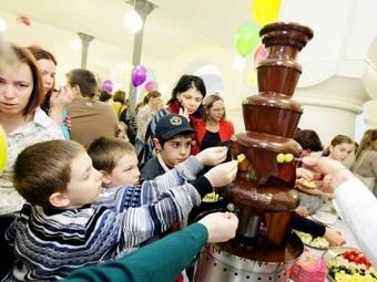 В Политехническом музее прошел благотворительный семейный праздник