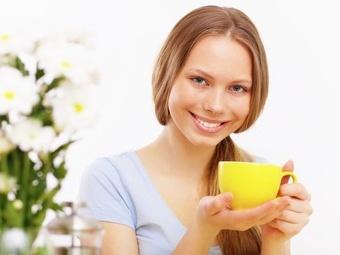 Рацион кормящей мамы: зелёный чай