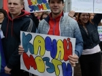 Студентки и каратисты Новосибирска сделали зарядку ради грамотности