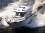 Новые катера для полиции спустили на воду в Хабаровске