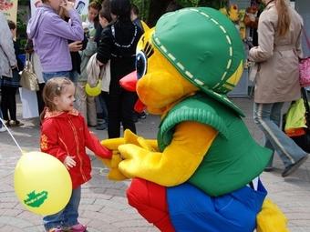 Муниципалный банк выступил партнером ежегодного детского праздника в Новосибирске