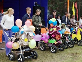 В Архангельске стартовал конкурс детских колясок