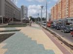 Благоустройство улицы Горького в Нижнем Новгороде завершат к концу июля