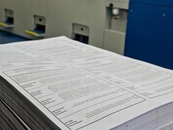 Бюллетени для голосования на выборах мэра Москвы поступили в территориальные избирательные комиссии