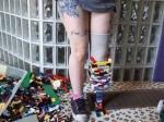 Девушка собрала протез из Лего