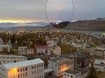 В Исландии неопознанный летающий объект приземлился на площадь