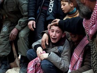 Чаще всего сирийские дети погибали от бомб