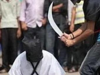 Наркоторговец был обезглавлен в пятницу в Саудовской Аравии