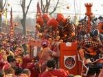 В Италии успешно состоялось традиционное «апельсиновое сражение»