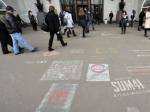 В Москве введут штрафы за рисунки на асфальте