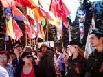 В Казахстане широко отметили праздник 9 мая