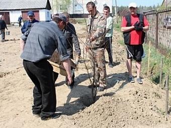 Ко Дню Победы в Озерске заложили парк и фруктовый сад