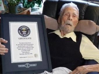 Самый старый мужчина планеты продолжает строить планы на будущее