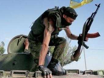 Украинские силовики сообщают об уничтожении боевой техники ополчения