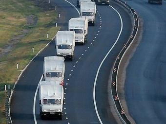 Москва планирует отправку на Украину еще одного конвоя с гуманитарным грузом