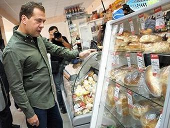 Российский премьер планирует периодически посещать магазины, чтобы отслеживать ассортимент и уровень цен