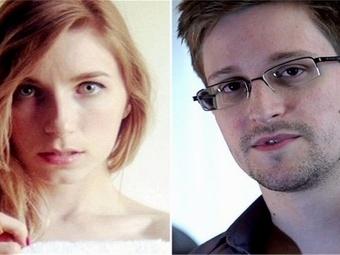 Сноуден со своей девушкой проживают теперь вместе в России