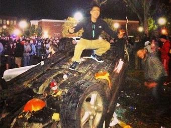 Массовые беспорядки начались во время «фестиваля тыквы» в США – около 30 человек пострадали
