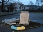 В Одессе был уничтожен памятник Ленину