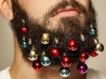 Бородатым мужчинам в Британии предложили украсить под Новый год свои бороды
