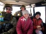 Удалось вывезти 610 человек изнаселенных пунктов находящихся взоне боевых действий— Эвакуация
