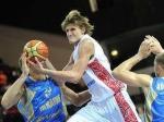 Российская сборная по баскетболу обыграла команду Украины в первый день Евробаскета-2011