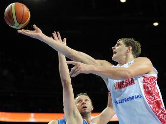 Россия обыграла Сербию на Евробаскете