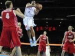 Российская сборная проиграла французам в полуфинале Евробаскета