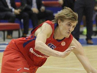 Кириленко признан лучшим игроком недели в Евролиге