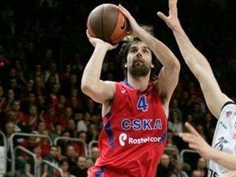 ЦСКА выиграл трехочковым одновременно с сиреной