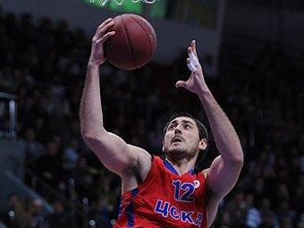 Баскетболист ЦСКА стал игроком недели в Евролиге