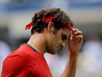 Федерер показал худший результат за восемь лет