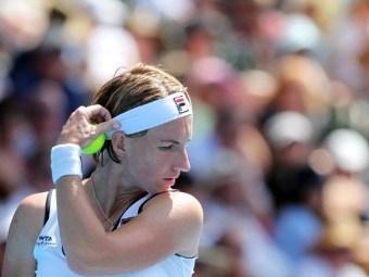 Светлана Кузнецова проиграла в полуфинале первого турнира года