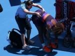Серена Уильямс получила травму спины