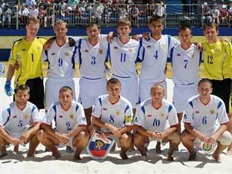 В Москве стартовал Суперфинал Евролиги по пляжному футболу