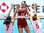Женская волейбольная сборная победила команду Перу