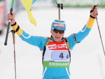 Украинская биатлонистка не прошла допинг-тест