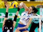 Женская волейбольная сборная России победила Китайскую команду