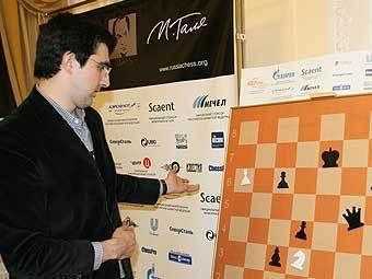 Владимир Крамник занял 5 место в первенстве России по шахматам