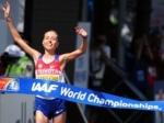 Ольга Каниськина выиграла золото в ходьбе на 20 километров