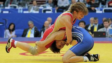 Замира Рахманова стала чемпионкой мира по спортивной борьбе