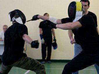 Крымов Павел Геннадьевич принял участие в закрытом турнире по ножевому бою