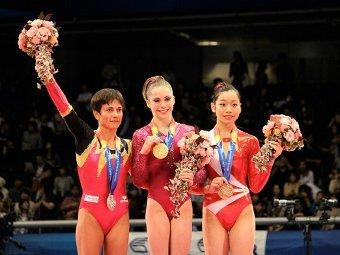 Российские гимнасты завоевали золото и серебро чемпионата мира