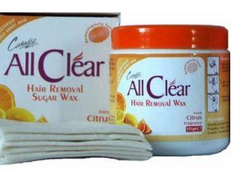 All Clear сахарный воск для удаления волос